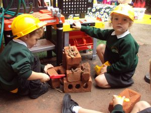 Physical Development - Building, using fine and gross motor movements.